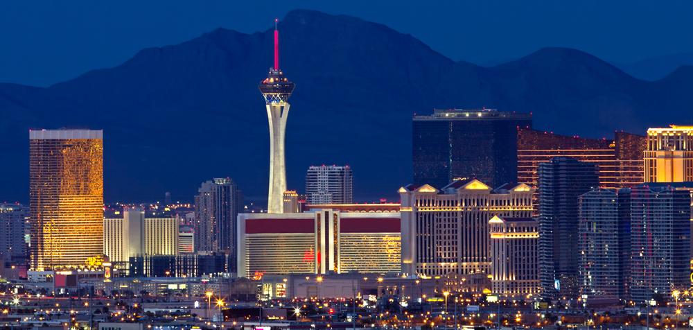 Las Vegas Night Sky